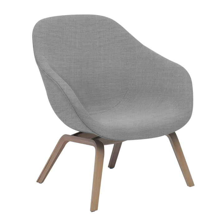 Hay - About A Lounge Chair Low AAL 83 in Remix light grey 123