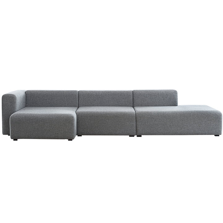 Mags sofa configuration short / chaise lounge modules / wide by Hay