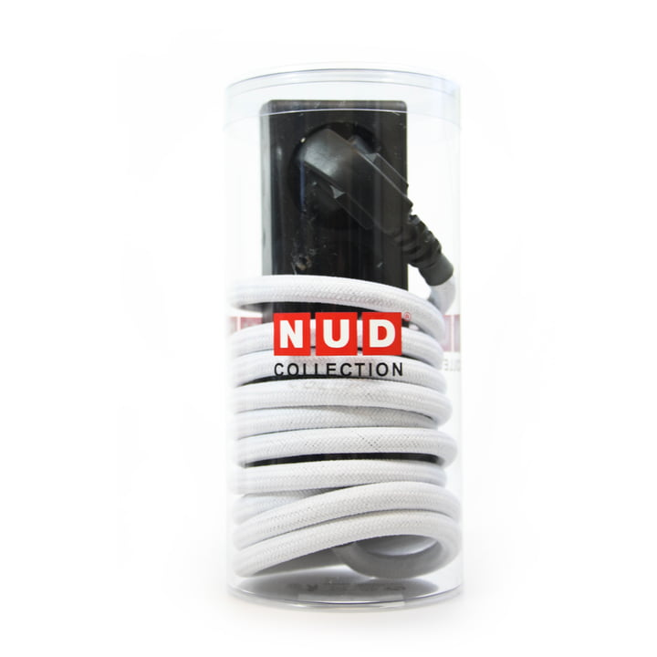 NUD Collection - Extension Cord 3-way socket, white (01-TT)