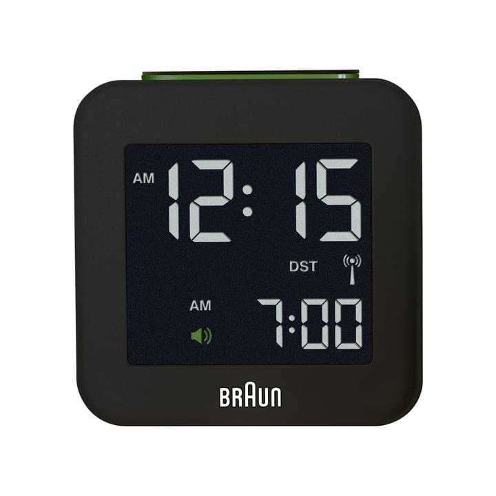 Braun - Digital Funk Alarm-Clock BNC008, black - front