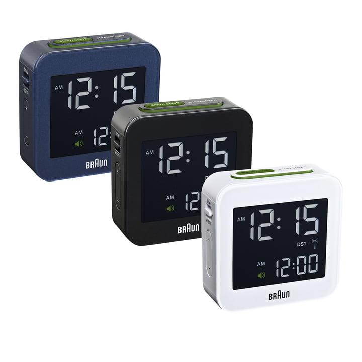 Braun - Digital Funk Alarm-Clock BNC008 - group