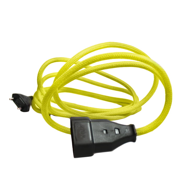 NUD Collection - Extension Cord, celery green