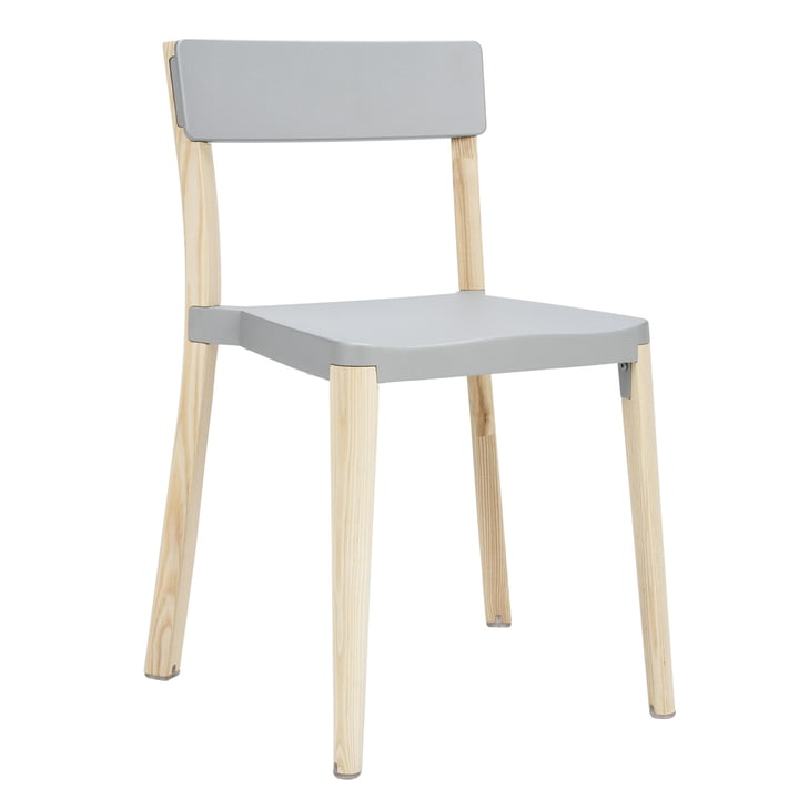 Emeco - Lancaster chair, light grey, light ash