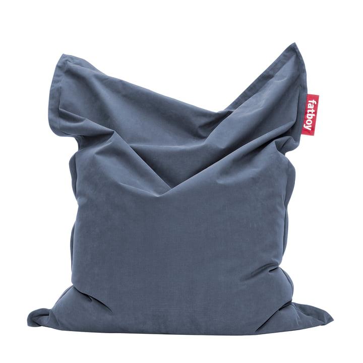 Original stonewashed beanbag by Fatboy in blue