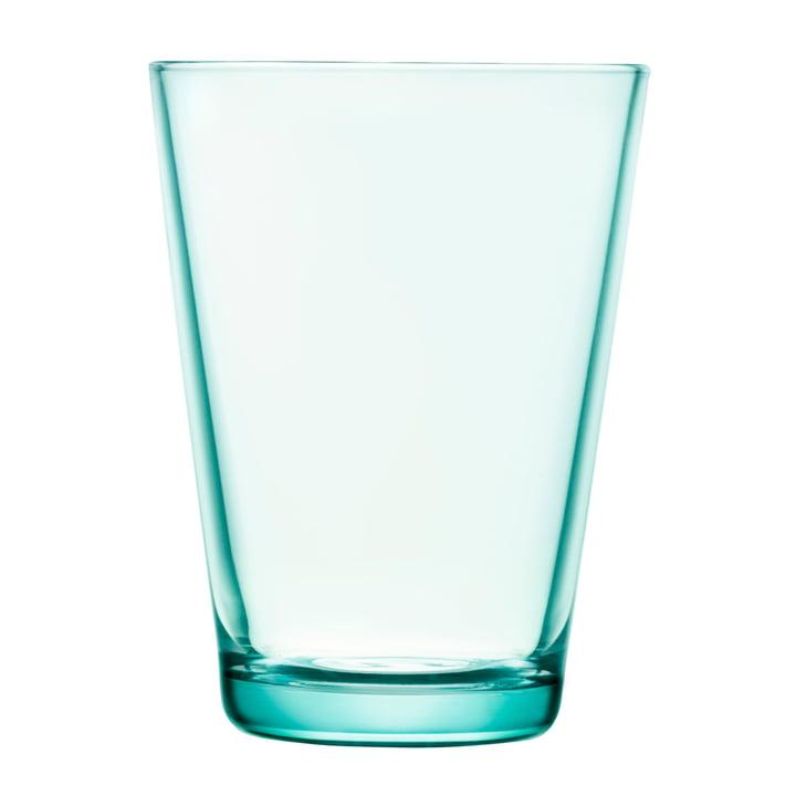 Iittala - Drinking Kartio glass 40 cl, water green