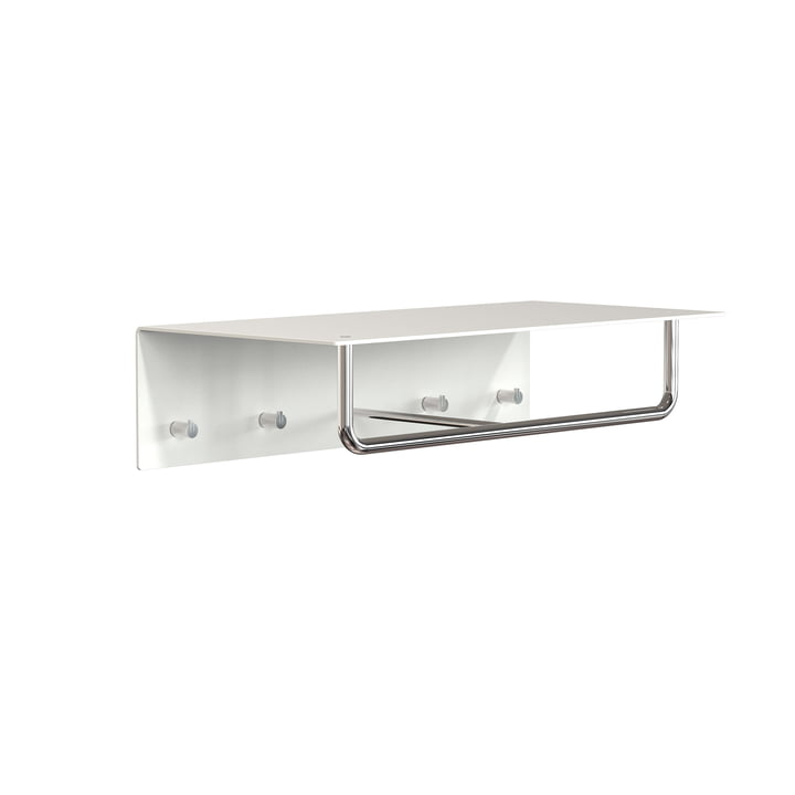 Frost - Unu coat rack with hooks and bar, 600 mm