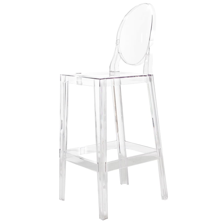 one more please bar stool by kartell. Black Bedroom Furniture Sets. Home Design Ideas