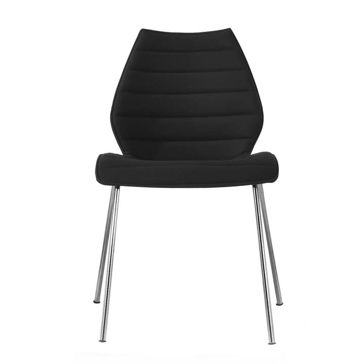 Kartell - Maui Chair W 55cm, Trevira, black