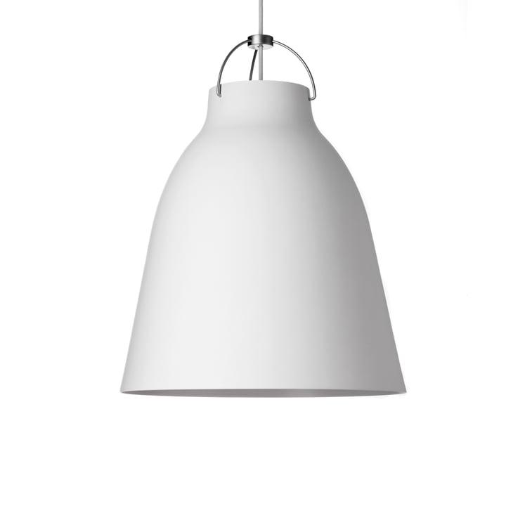 Caravaggio P2 pendant lamp by Fritz Hansen in matt white