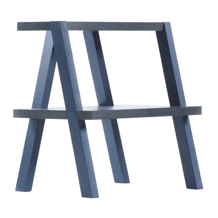 Auerberg - AEKI stool, blue - side