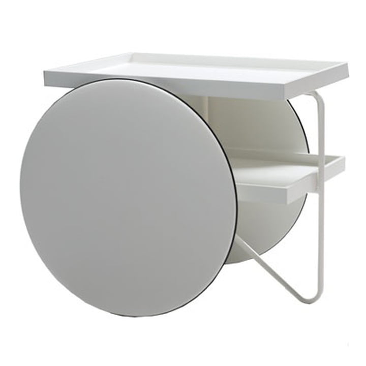 Casamania - Chariot Mobile Table, white