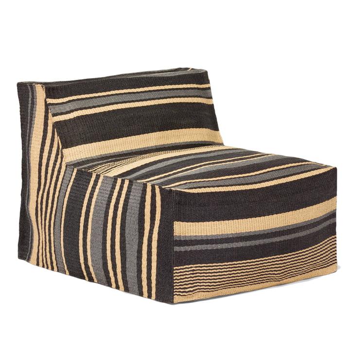 Weishäupl - Chill armchair, grey striped