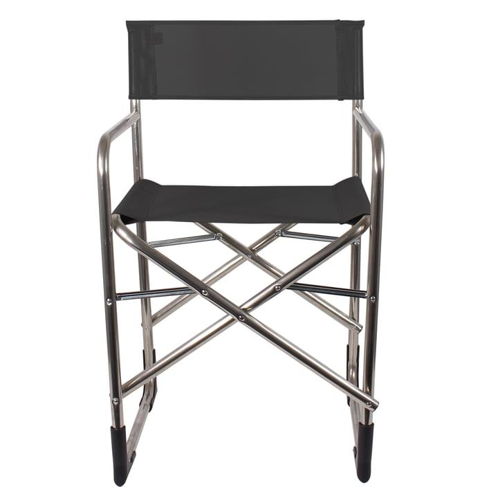 Fiam - Director aluminum chair, black