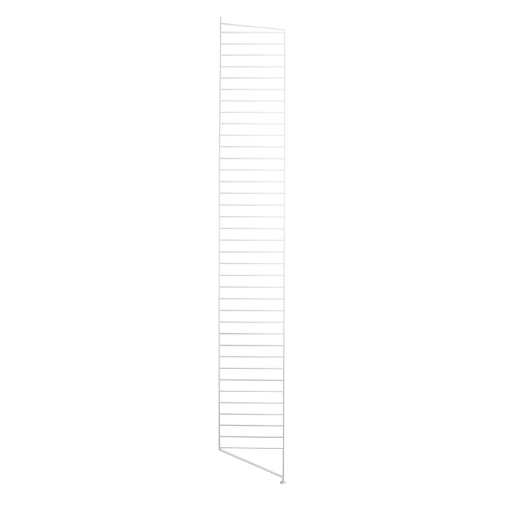 String floor panel for shelving system, 200 cm, white