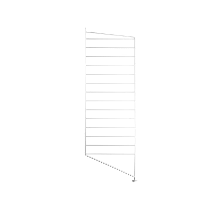String floor panel for shelving system, 85 cm, white