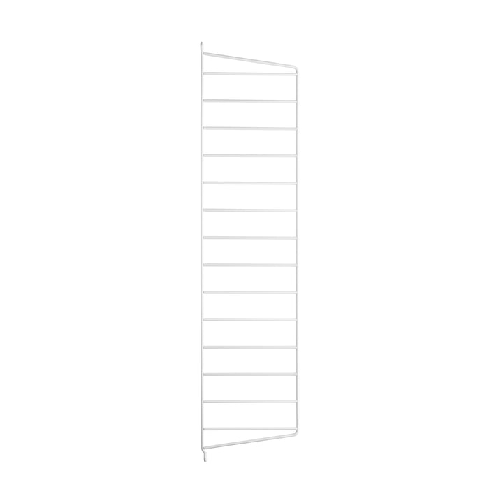 Wall ladder for string shelf 75 cm from string in white