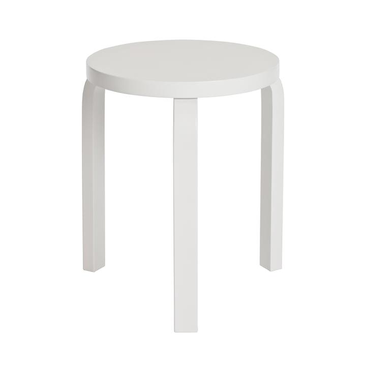 Artek - Stool 60, white/ white