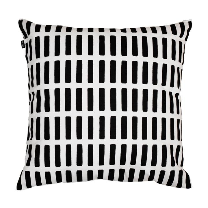 Artek - Siena pillow case, white/ black