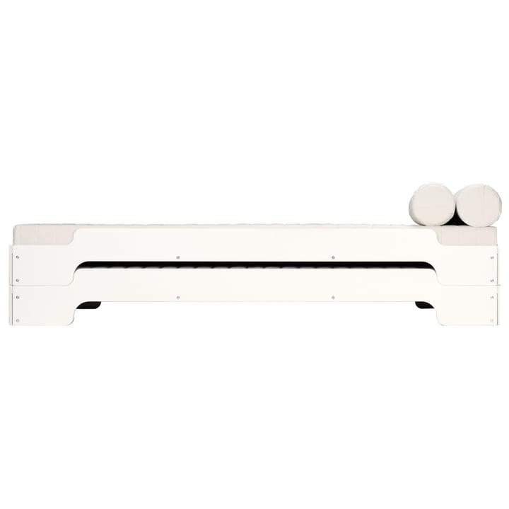 Müller Möbelwerkstätten - Stacking bed, white