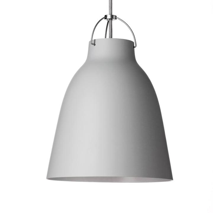 Caravaggio P3 Pendant Lamp by Fritz Hansen in matt, light grey (25)