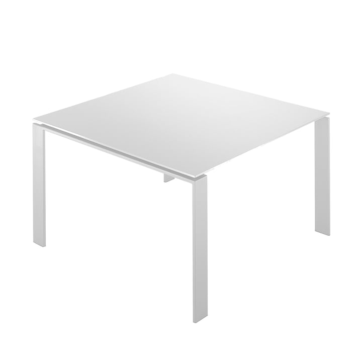Kartell - Four Table, 128x128, white/ white