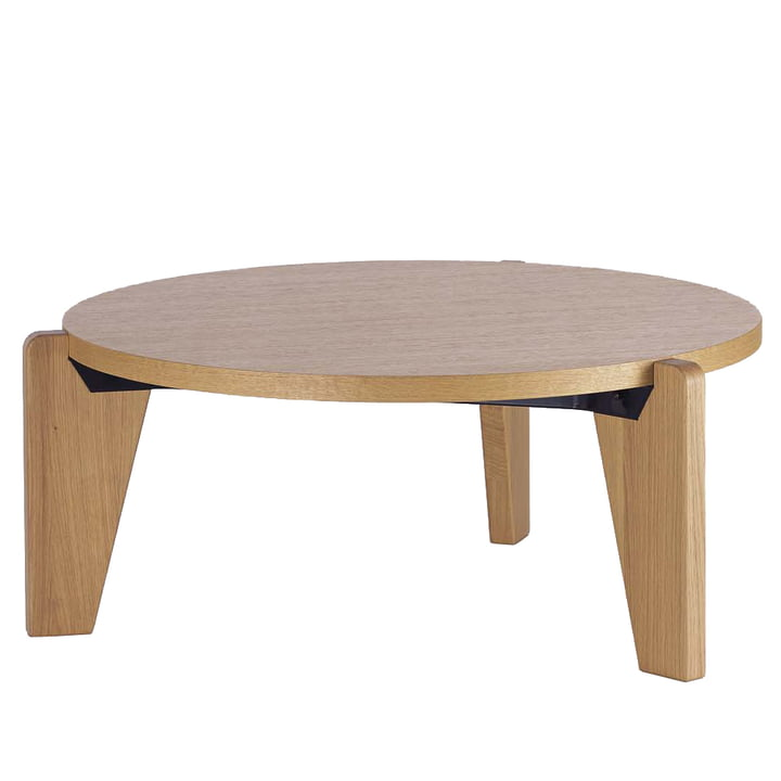 Vitra - Guéridon Bas coffee table, oak natural