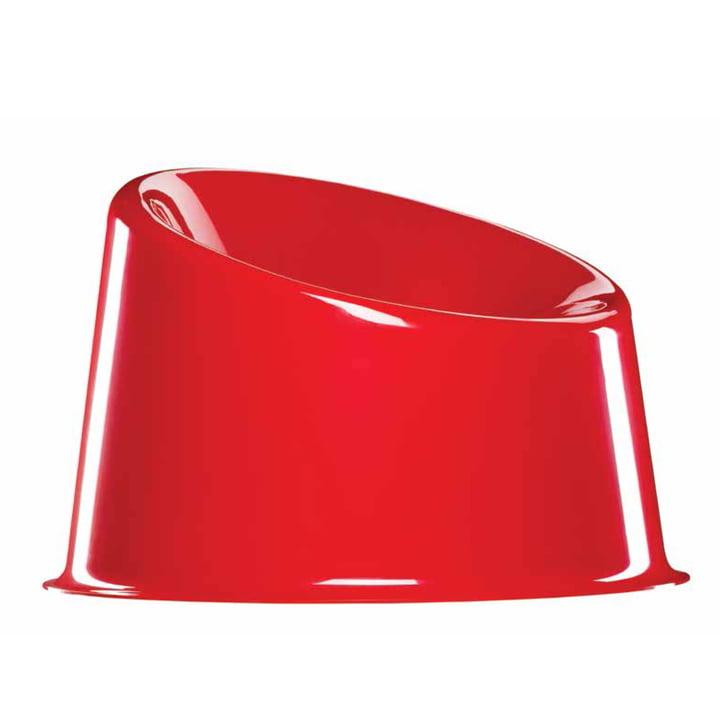 Verpan - Panto Pop chair, red