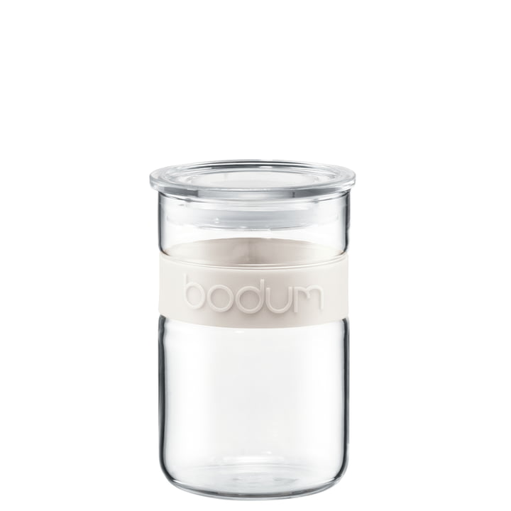 Bodum - Presso Storage Jar, 0.6 l, cream