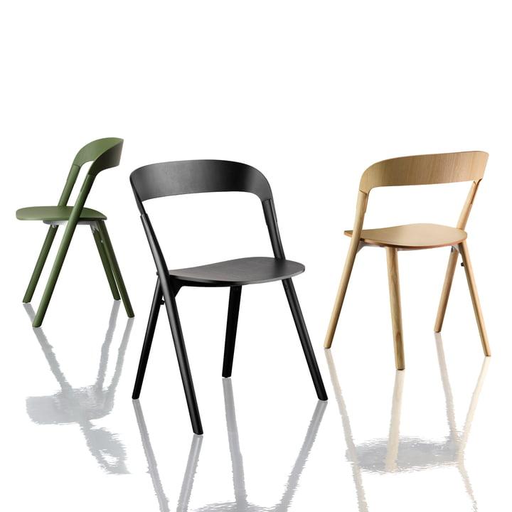 Magis - Pila Chair - group, colours