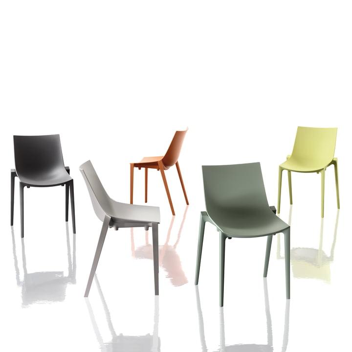 Magis - Zartan Chair Basic - group, all colours