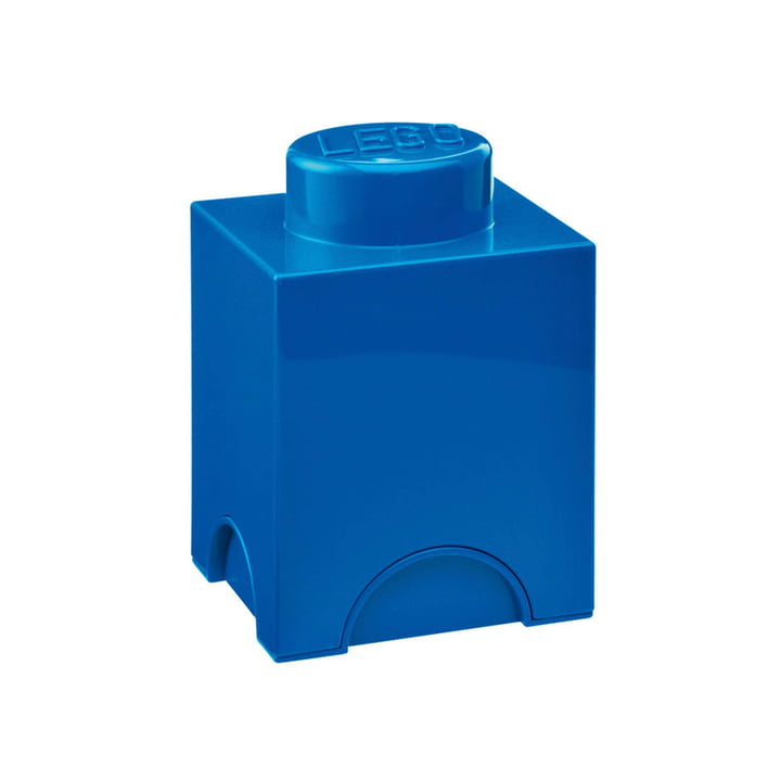Lego - Storage Brick 1, blue