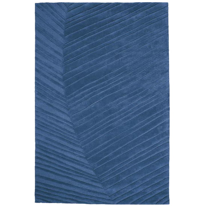 Ruckstuhl - Palm Leaf carpet, saphire blue