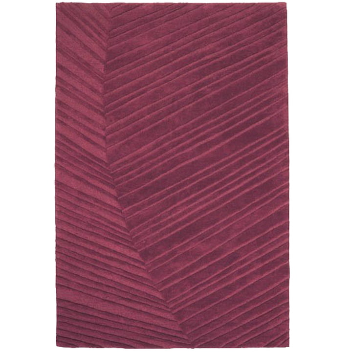 Ruckstuhl - Palm Leaf carpet, brown red