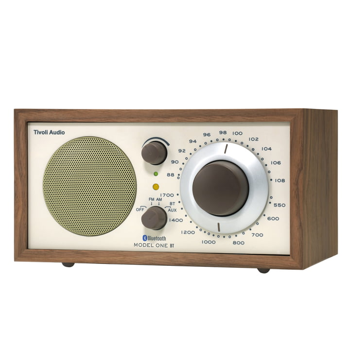 Tivoli Audio - Model One BT, walnut / bege