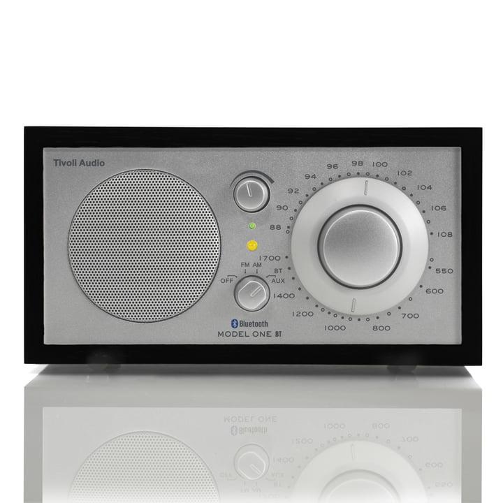 Tivoli Audio - Model One BT, black / silver - Front