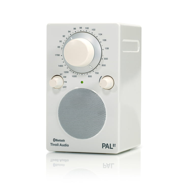 Tivoli Audio - Model PAL BT, white / white