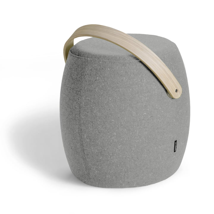 Offecct - Carry On Stool, grey (Remix 123), single image