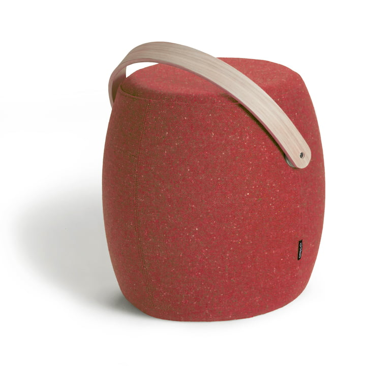 Offecct - Carry On Stool, red (Remix 643), single image