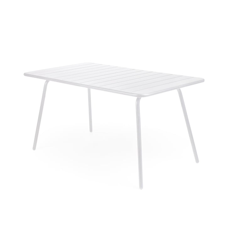 Fermob - Luxembourg Table, rectangular, white