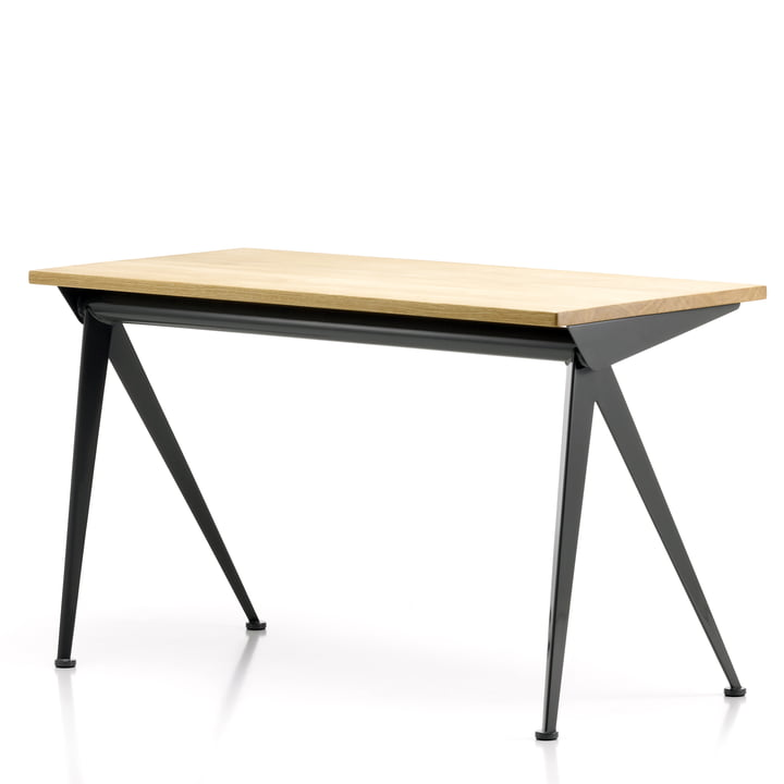 Vitra - Compas Direction Table, natural oak wood/ black