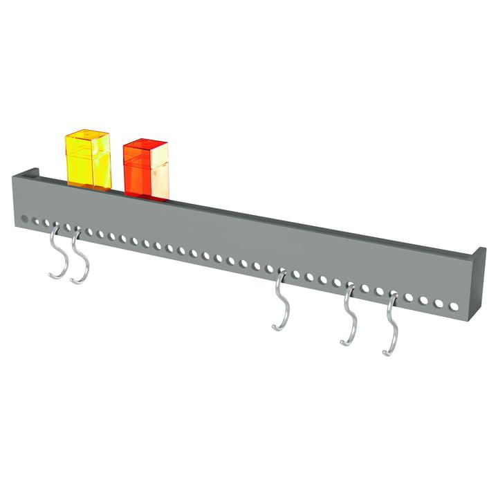 Nomess - So-Hooked Coat Rack, gray, 90 cm