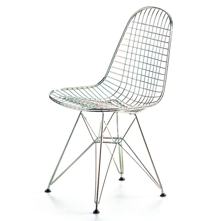 Vitra - Wire Chair DKR, chrome-plated