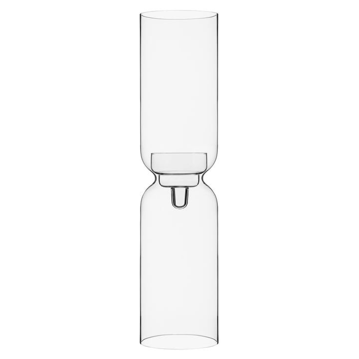Lantern candle holder 600 mm from Iittala in clear