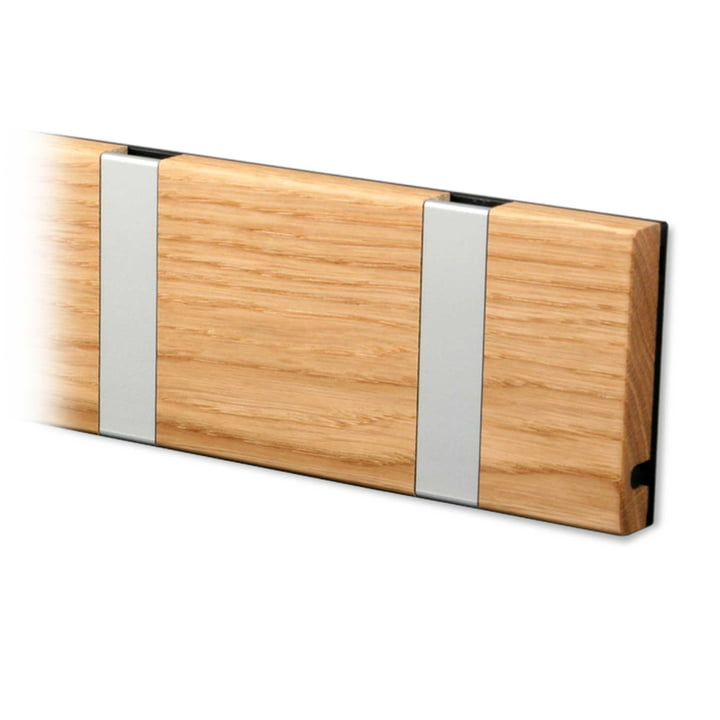 LoCa - Knax coat rack, oiled oak