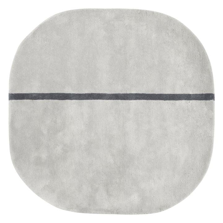 Normann Copenhagen - Oona Carpet, 140 x 140 cm, grey