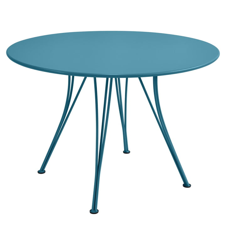 Fermob - Rendez-Vous table round, 110cm, turquoise