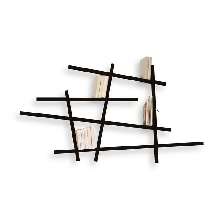 Edition Compagnie - Mikado bookshelf, small, black