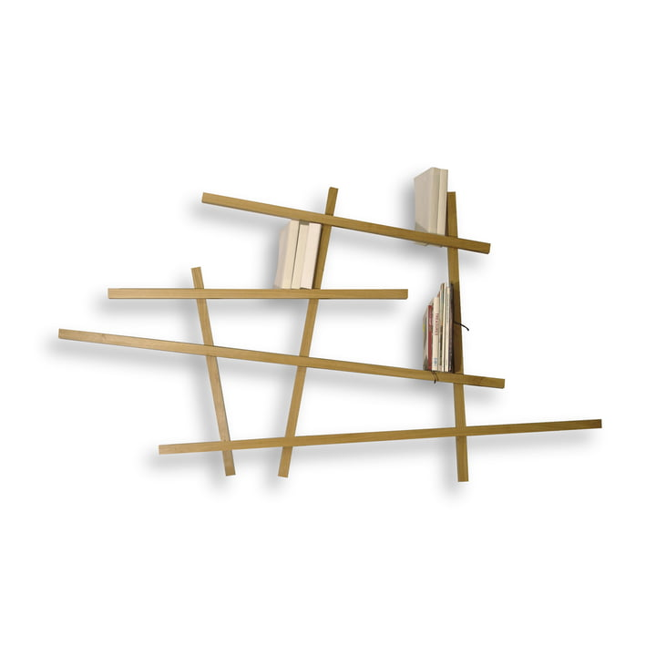 Edition Compagnie - Mikado bookshelf, small, oak