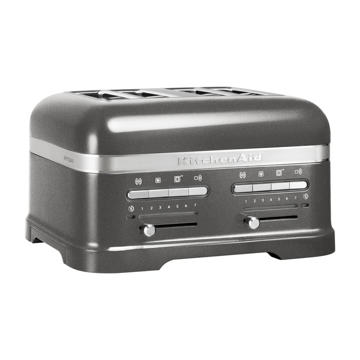 KitchenAid - Artisan Toaster 5KMT, 4 slices, medallion silber
