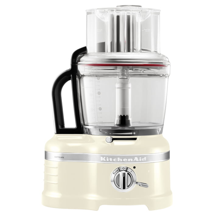 KitchenAid - Artisan Food Processor, 4,0 L, cream